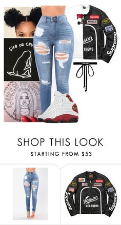 """""""want her ~ dj.mustard ft. quavo & yg"""" by luh-foreign ❤ liked on Polyvore featuring Vanson and Joomi Lim"""