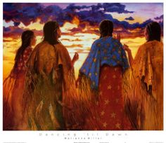 """""""The honor of the people lies in the moccasin tracks of the woman. Walk the good road...Be dutiful, respectful, gentle and modest my daughter...Be strong with the warm, strong heart of the earth. Be strong and sing the strength of the Great Powers within you, all around you.""""~Village Wise Man, SIOUX"""
