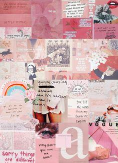 edwreya s. Aesthetic Iphone Wallpaper, Aesthetic Collage, Pattern Wallpaper, Tumblr Wallpaper, Pink Wallpaper, Aesthetic Wallpapers, Collage Art, Mood Board, Aesthetic Pastel Wallpaper