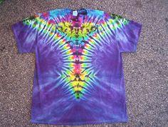Lila Tie-Dye-Größe Large von tiedyetodd auf Etsy