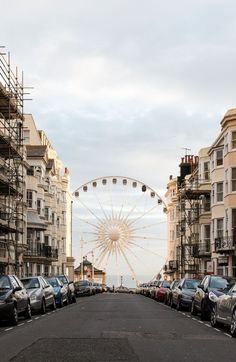 This reminds me of the boardwalks on the Jersey Shore. I would… Brighton England. This reminds me of the boardwalks on the Jersey Shore. I would probably feel at home here. Brighton England, England Uk, Visit Brighton, London Brighton, Oh The Places You'll Go, Places To Travel, Places To Visit, Road Trip France, Parks