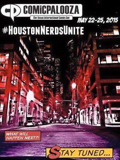 Win 4 Tickets to Comicpalooza Here! #HoustonNerdsUnite