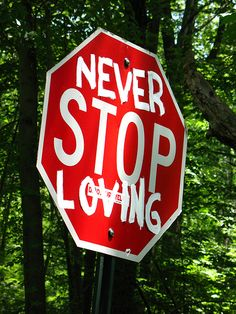 Never stop loving.#powerpatate#optimisme