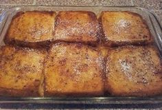 This baked French toast casserole is so tasty, and easy to make! The perfect entree for a Sunday morning breakfast! Ingredients: 1/2…