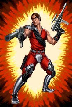 Tomax: Crimson Guard Commander (Version 3)