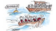 Essendon is in trouble but we will prevail. Illustration: Ron Tandberg