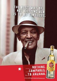Havana Club Rum - Jason Rieff. Art Director, Copywriter, Brand manager. Havana Club Rum, Bacardi Rum, Cigar Bar, Hello Weekend, Brand Management, Social Club, Copywriting, Art Director, Getting Old