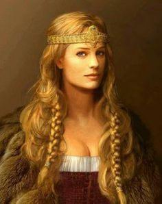 A good representation of what I think Frigg would look like. // #Svanhilde #ContesDefaits