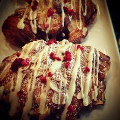 Ispahan inspire Croissant @ Amatissimo Cafe