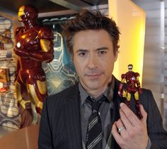 Robert Downey Jr. is Iron Man.