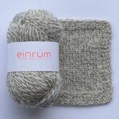 E 5124 + 2 hvid barýt - Einband - Einrúm garn