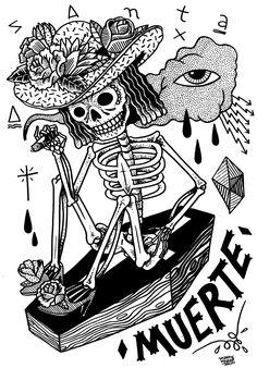 mermaid tattoo skull - Google Search