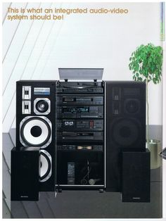 Speaker Amplifier, Hifi Speakers, Best Speakers, Hifi Stereo, Hifi Audio, Hi Fi System, Audio System, Technics Hifi, Kenwood Stereo