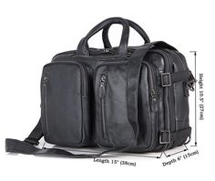 fff412e4ac JMD New Classic Applied Style Real Leather Men Black Casual Briefcases Hand Laptop  Bag Travel Bags
