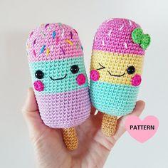 ICE LOLLIES PDF Pattern amigurumi crochet