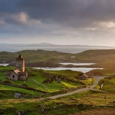 Scotland--Church of Rodel on the Isle of Lewis, Outer Hebrides