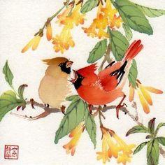 Jinghua Gao Dalia - Brush Magic: Summer on the River (copyrighted) 2010