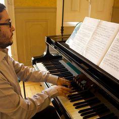 Pedro Vieira de Almeida, pianista