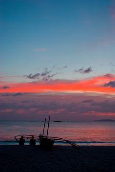 Calaguas at sunset