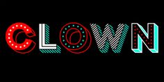 Clown - Desktop font « MyFonts