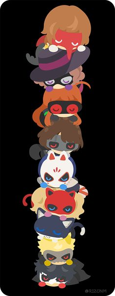 D'aww look it~! They're so adorable!