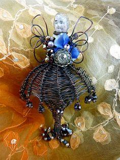 Frozen Charlotte wearable art doll!