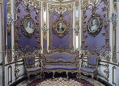 Schloss Linderhof Schlafzimmer | Eastern And Western Tapestry Chambers Linderhof Palace East