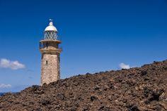 Faro del Hierro. Orchilla. Islas Canarias.  Spain