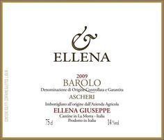 Ellena Barolo Ascheri 2011