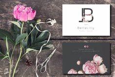 Betta-Lilly Floral Design 🌷 Logo Branding
