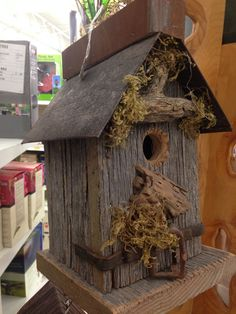 Pinterest Birdhouse Ideas | Pinned by John Shirvinsky