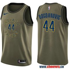 0858b222fb8 Nike Jazz Karl Malone Green Salute to Service NBA Swingman Jersey. lily  brown · NBA Indiana Pacers Jerseys