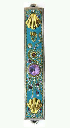New Mezuzah Handmade Art Swarovski crystal by IrinaSmilansky, $50.99