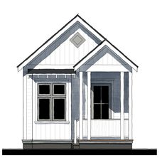 Cottage House Plans, Cottage Homes, Small Cabin Plans, Tiny House Living, Small Homes, Camps, Architects, Shed, Floor Plans