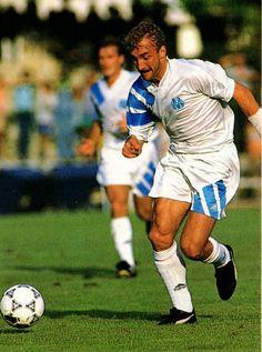 Rudi Voller of Marseille in 1993.