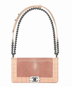 Chanel Boy bag galuchat
