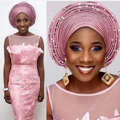 Pretty guest #asoebi #asoebispecial #speciallovers #makeup #wedding  @goldwlthbeauty