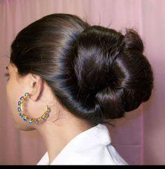 Super hair accessories for buns chignons ideas Beautiful Long Hair, Gorgeous Hair, Amazing Hair, Cut My Hair, Big Hair, Long Indian Hair, Bun Hairstyles For Long Hair, Super Long Hair, Silky Hair