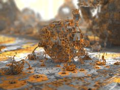 lowres variation - Mandelbulb3D with Parameter by matze2001
