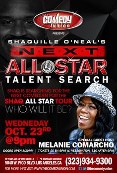 The Comedy Union – Wed @ 9pm...