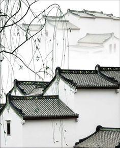 Ancient rhyme - Zhuhai, China -Yunsheng He Chinese Garden, New Chinese, Chinese Culture, Chinese Art, Chinese Style, Chinese Brush, Chinese Element, Chinese Design, Art Japonais