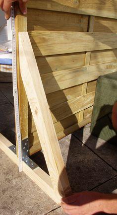 sichtschutz paravent garten balkon selber bauen anleitung diy fertig ohne farbe bricoles