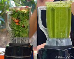 Suco Verde detox para o pós-Páscoa   Bebidas   Mais Você - Receitas Gshow
