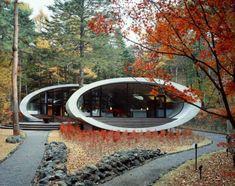 Belle maison moderne à l'architecture originale