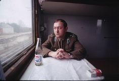 Train ride from Vilnius to Tallinn, photos by David Turnley (1989)  Soviet Postcards Artists And Models, High Art, Train Rides, Free Blog, Popular Culture, Location History, The Twenties, Russia, Nostalgia
