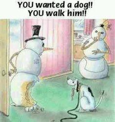 Winter funny