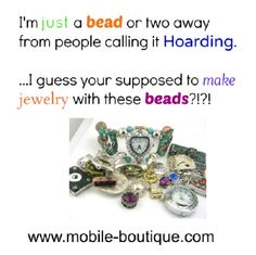 We offer unique style if beads and fold over clasps to bring your jewelry designs to the next level and increase your sales or improve upon your handmade gifts! www.mobile-boutique.com