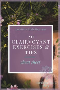 These 20 clairvoyant exercises and tips are all you need to open your third eye and start developing your abilities with confidence. Because they are SO easy, they are perfect for beginners (definitely try number 11 and Psychic Development, Spiritual Development, Personal Development, Psychic Powers, Psychic Abilities, Opening Your Third Eye, Law Of Attraction Tips, Psychic Mediums, Spiritual Growth