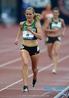 Lisa Uhl places fourth in the womens 10,000m in 32:03.46 in the 2012 U.S. Olympic Team Trials at Hayward Field.