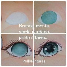 """Wonderful - Wonderful"" Puppet Man Made - Diykunst Eye Painting, Doll Painting, Doll Crafts, Diy Doll, Doll Face Paint, Doll Repaint, Doll Eyes, Sewing Dolls, Doll Tutorial"